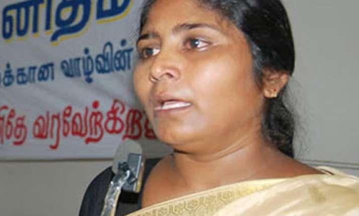 don t hang my husband s associates pleads veerappan s widow