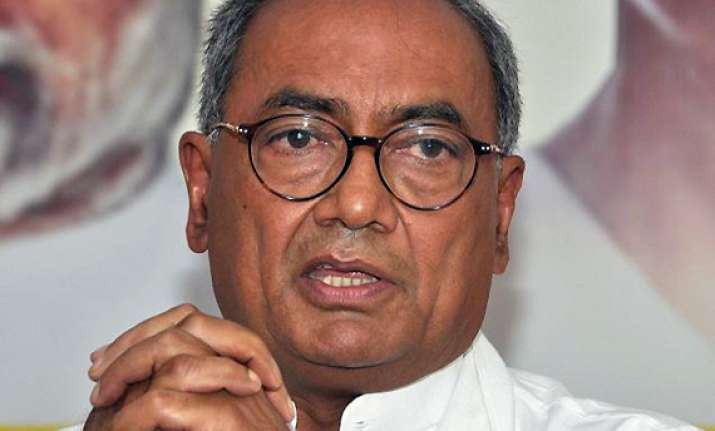 don t keep undertrials in lock up digvijay cites rajat case