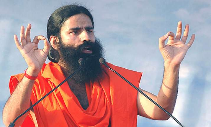 don t vote for congress in up polls ramdev tells people