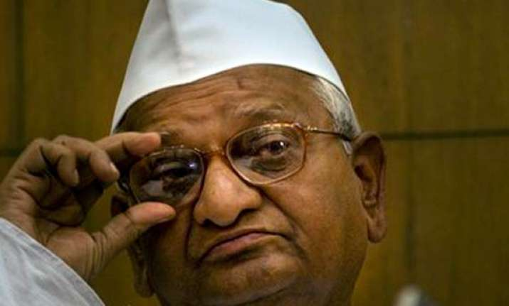 don t vote for parties opposing jan lokpal says hazare