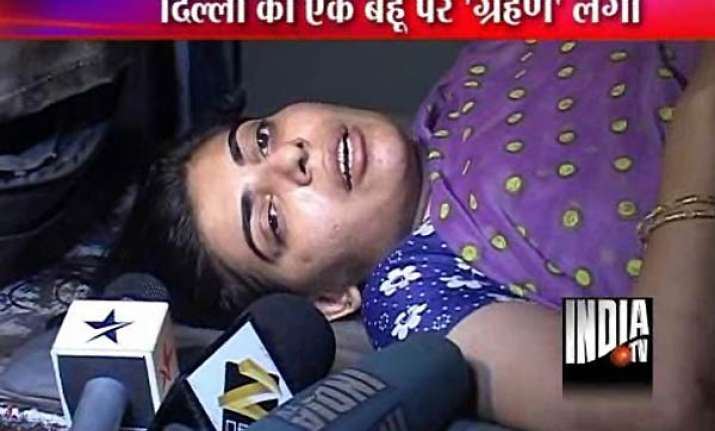 dowry devil husband throws wife from terrace