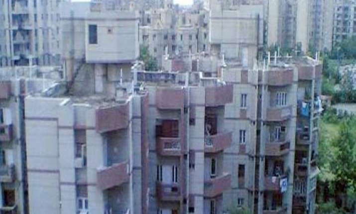 bjp alleges bungling in dda draw for flats