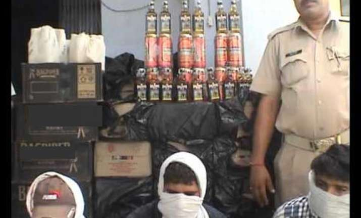 drugs liquor worth hundreds of crore seized in punjab