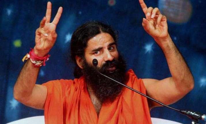 ec allows ramdev yoga camp in delhi with conditions