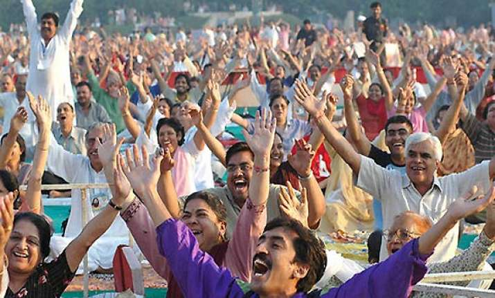 ec cracks the whip on swami ramdev s yoga camps