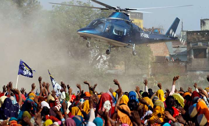 ec asks parties to furnish details about use of choppers