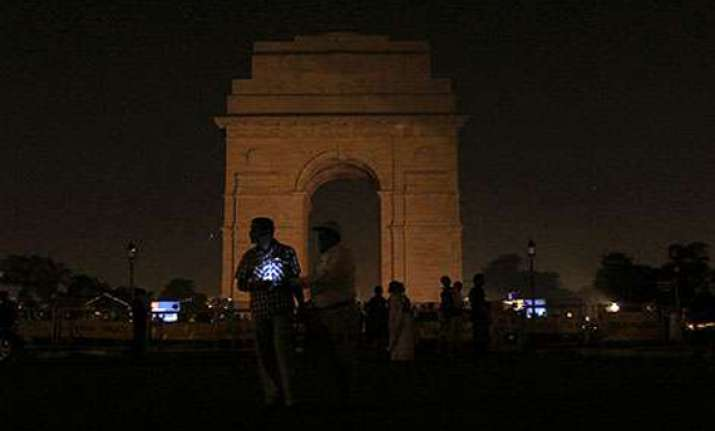 earth hour marked in delhi