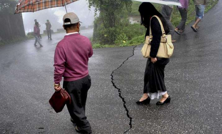 earthquake of moderate intensity rocks north east