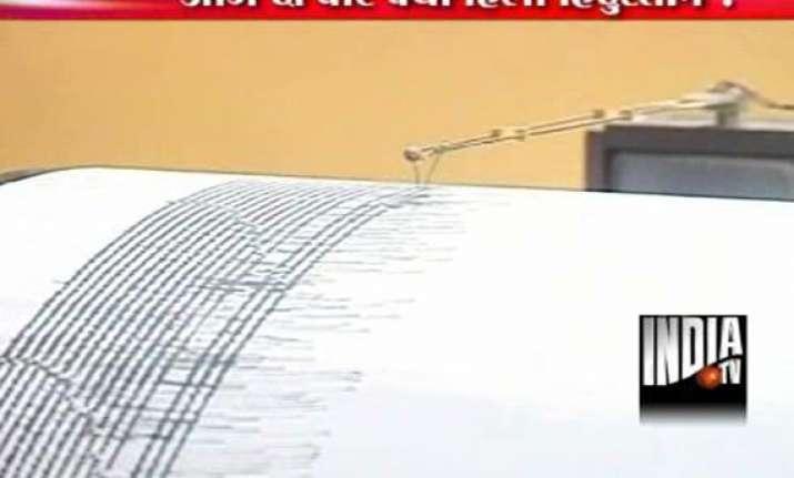 earthquake rocks western india