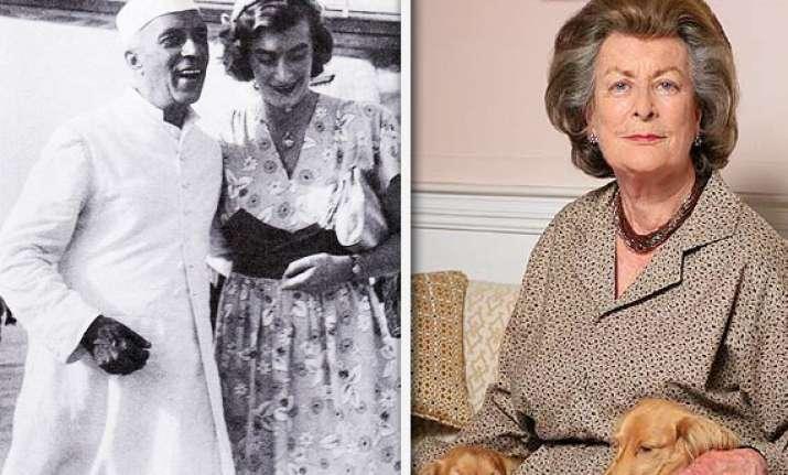 edwina nehru had a spiritual relationship daughter
