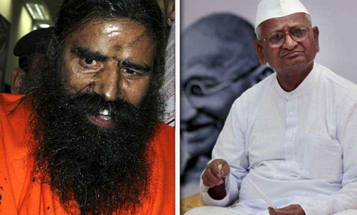 effort made to blacken face of democracy says anna hazare