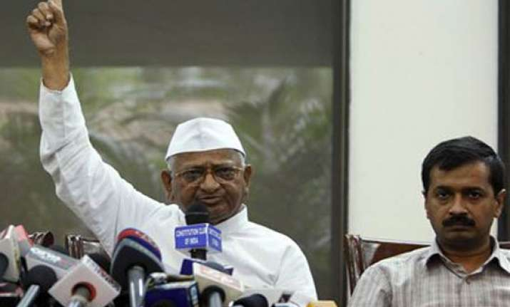 efforts being made to disrupt hazare s movement kejriwal