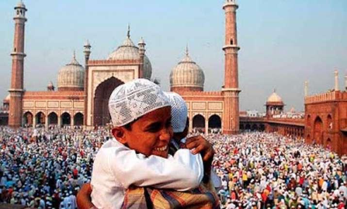 eid celebrations in india