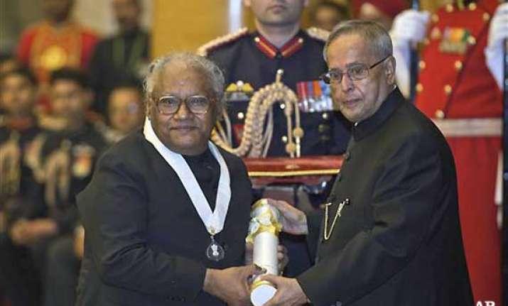 eminent scientist c.n.r. rao conferred with bharat ratna