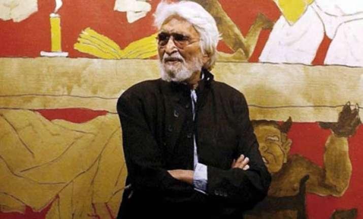 eminent painter m f hussain dead