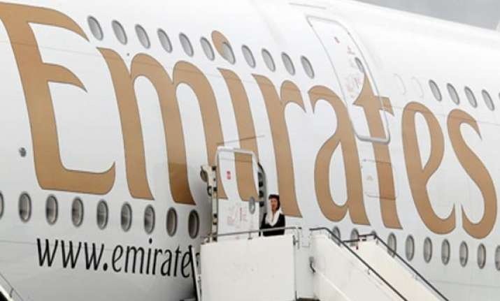 emirates flight makes emergency landing in kolkata