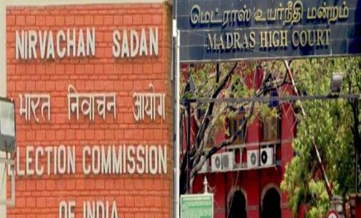 entire proceedings in counting hall will be videographed ec