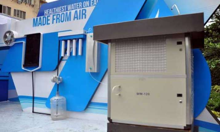 eureka forbes creates india s first air water generator