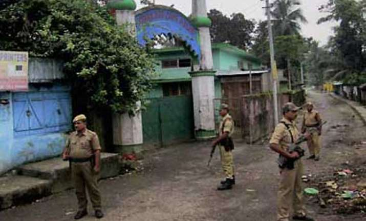 explosives found in a house in assam