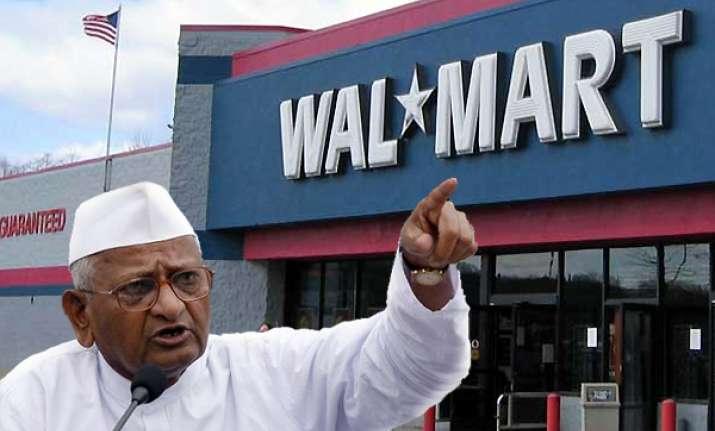 fdi in retail will enslave india says hazare