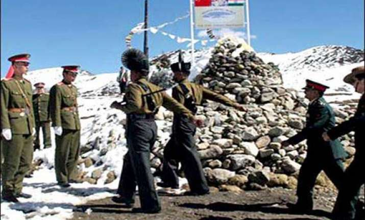 face offs take place between indian chinese troops army