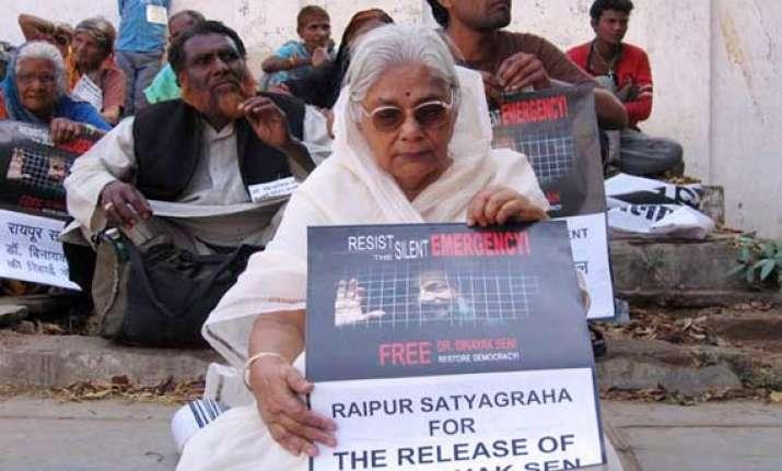 faith in judiciary restored says binayak s mother