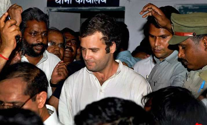 farmers killed women raped in up villages alleges rahul bsp