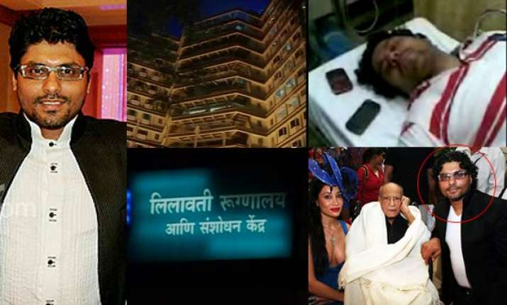 fashion designer gangji pushed from first floor of building