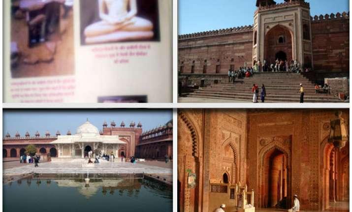 fatehpur sikri was once a jain pilgrimage centre reveals a