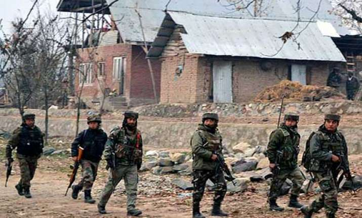 shopian encounter ends major 3 militants killed