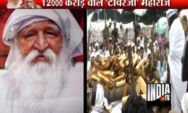 fight continues over baba jai gurudev s 12 000 crore empire