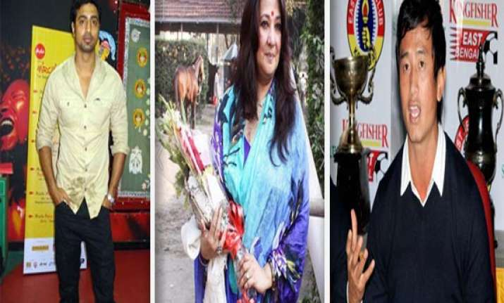 film stars footballers singers contesting bengal elections