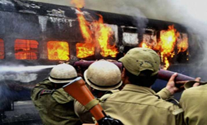 fire damages train coaches in jammu railway station