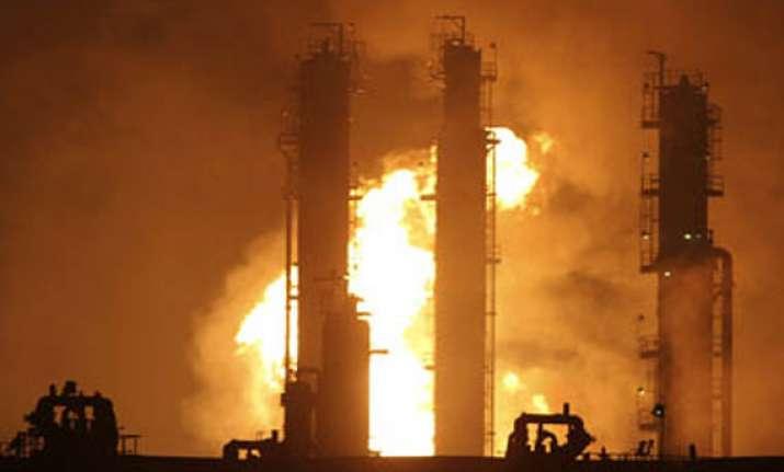 fire in nrl refinery in assam