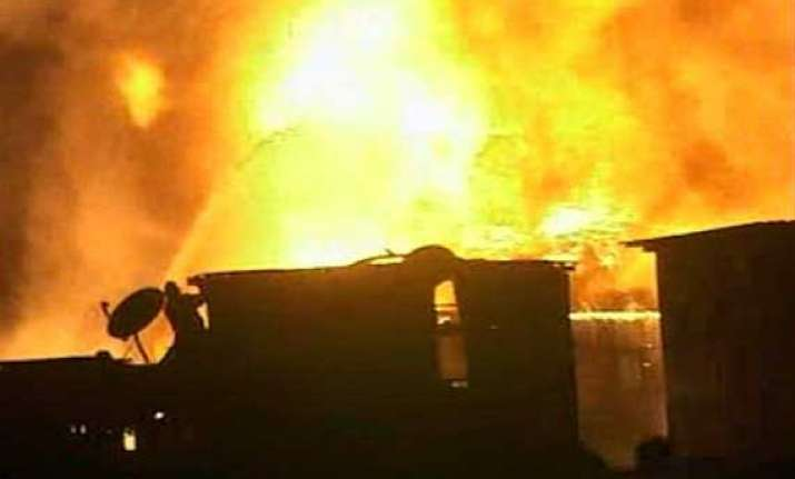 fire on 15th floor of south mumbai building no casualties