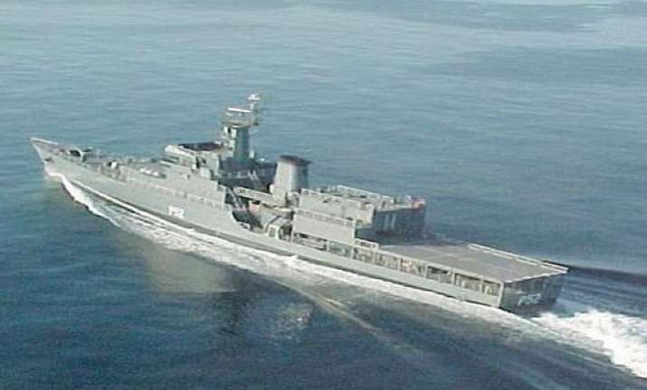 fire onboard naval warship no casualties