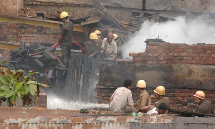 fire in kolkata jute mill