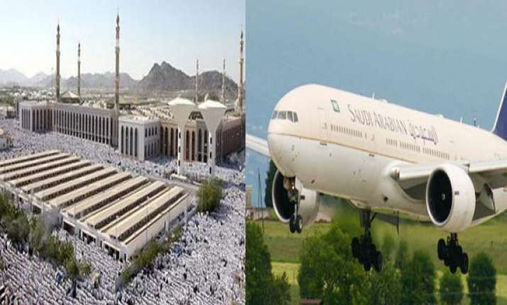 first flight for haj bound pilgrims from tamil nadu on