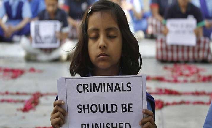 five delhi girls brutalised in april 393 rapes since jan 1