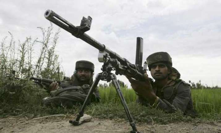 five hm militants killed in encounter with security forces