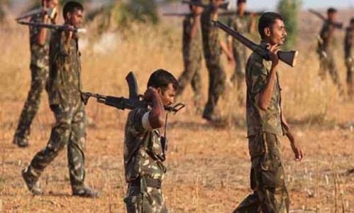 five naxals arrested in chhattisgarh