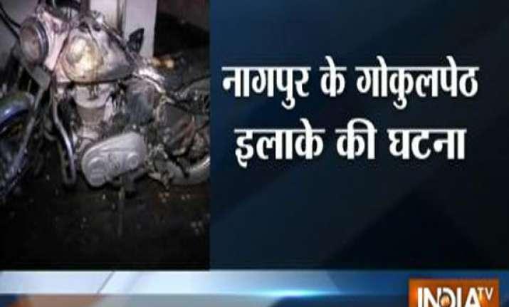 five members of family burnt alive in nagpur