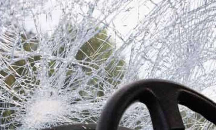 five of a family perish as car hits tree in punjab