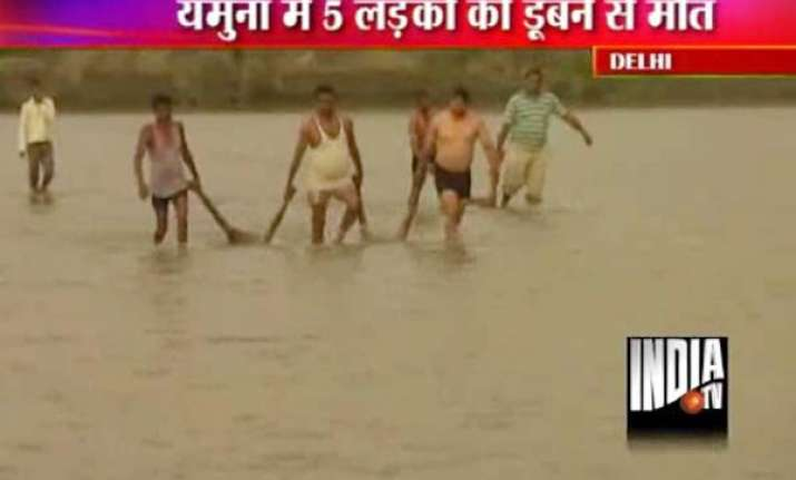 five youths drown in yamuna