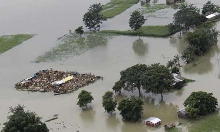 flood affects 15 villages in sonitpur district