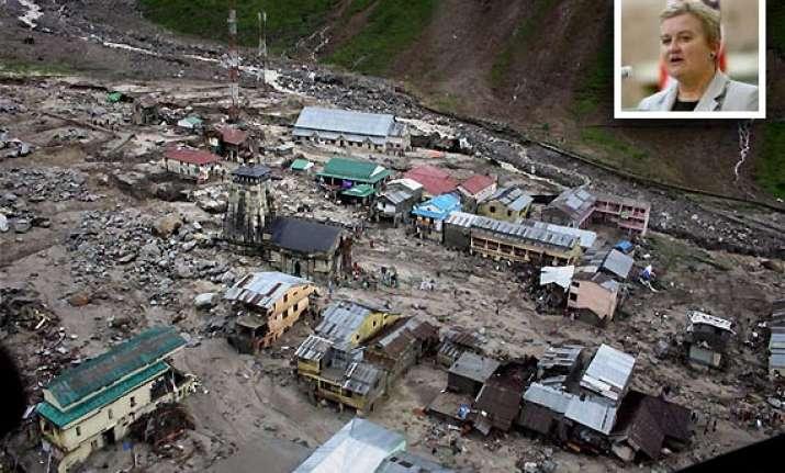 flood ravaged uttarakhand to get 150 000 us aid