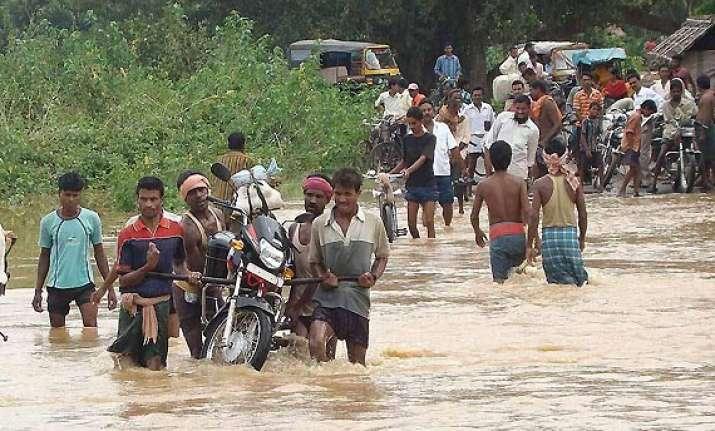 floods follow phailin ganjam 50 000 evacuated