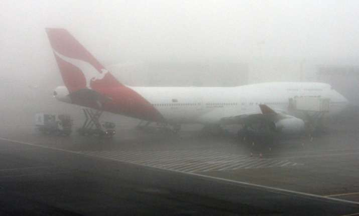 250 flights hit due to dense fog