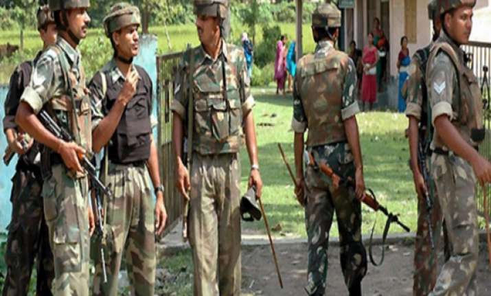 forces search for insurgents on indo myanmar border in