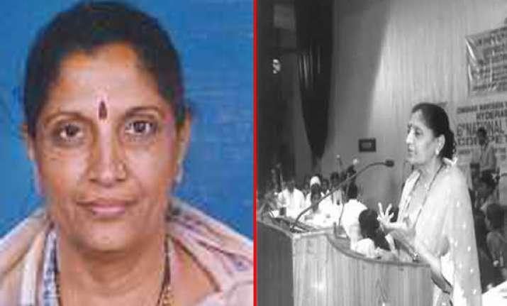former bjp union minister bhavna chikhalia dead